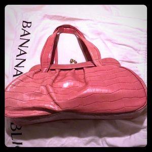Banana republic leather handbag!